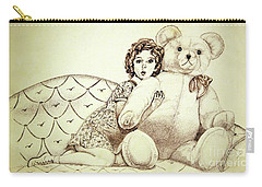 Shirley Temple Carry-all Pouch by Linda Simon