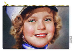 Shirley Temple, Vintage Actress Carry-all Pouch