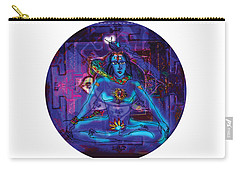 Shiva In Meditation Carry-all Pouch
