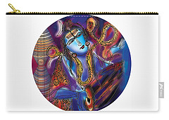 Shiva Playing The Drums Carry-all Pouch