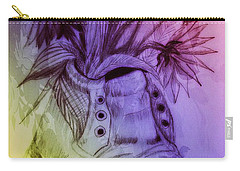 Shoe Art 1 Carry-all Pouch by Maria Urso