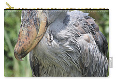 Shoebill Stork Carry-all Pouch by Carol Groenen