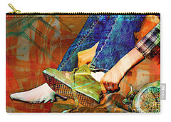 Shoes To Go Carry-all Pouch by Bob Pardue