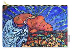 Shofar Carry-all Pouch by Rae Chichilnitsky