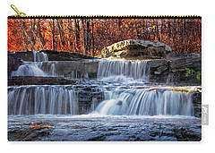 Shohola Falls In The Poconos Carry-all Pouch