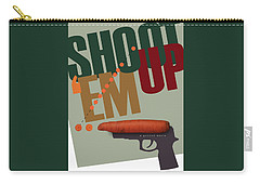 Shoot 'em Up Movie Poster Carry-all Pouch