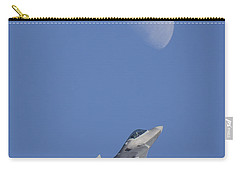 Carry-all Pouch featuring the photograph Shoot The Moon by Adam Romanowicz