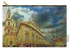 Shooting Round The Corner - Prague Carry-all Pouch