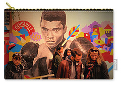 Shopping In Brooklyn With Mohamed Ali Carry-all Pouch