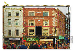 shopping on Grafton Street in Dublin Carry-all Pouch
