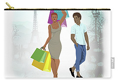 Shopping With Style In Paris Carry-all Pouch