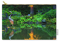 Carry-all Pouch featuring the photograph Shore Acres Beauty by Dale Stillman