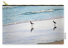 Shore Birds Carry-all Pouch by Mike Robles