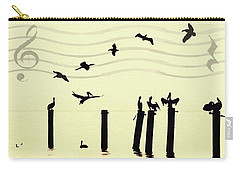 Shore Song Carry-all Pouch by Deborah Smith