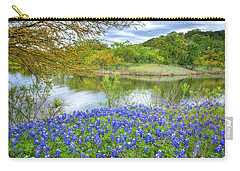 Shoreline Bluebonnets At Lake Travis Carry-all Pouch