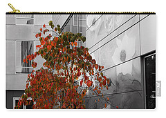 Shoreline City Hall Carry-all Pouch by Mary Jo Allen