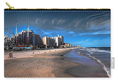 Carry-all Pouch featuring the photograph Shoreline by Jim Hill