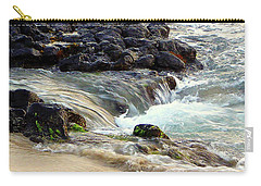 Carry-all Pouch featuring the photograph Shoreline by Lori Seaman