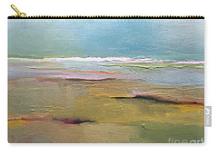 Carry-all Pouch featuring the painting Shoreline by Michelle Abrams