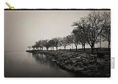 Shoreline Mist Carry-all Pouch by Shawna Rowe