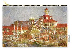 Shoreline Village Carry-all Pouch by Joseph Hollingsworth