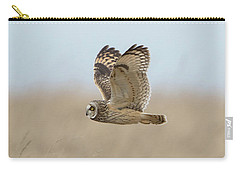Short-eared Owl Hunting Carry-all Pouch