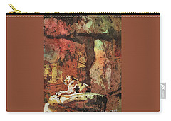Carry-all Pouch featuring the painting Short Reprieve by Ryan Fox