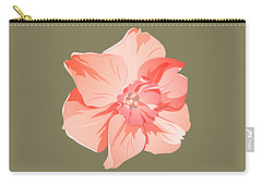 Short Trumpet Daffodil In Warm Pink Carry-all Pouch