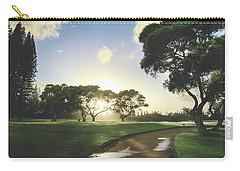 Carry-all Pouch featuring the photograph Show Me The Way by Laurie Search