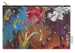 Showers Of Flowers Carry-all Pouch