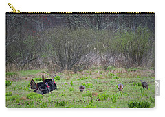 Carry-all Pouch featuring the photograph Showing Off by Bill Wakeley