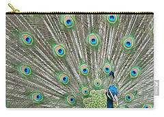 Carry-all Pouch featuring the photograph Showing Off by Margaret Bobb