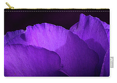 Showy Prairie Gertain Flower Petals Carry-all Pouch by Garry McMichael