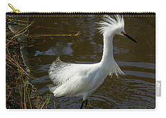 Showy Snowy Carry-all Pouch