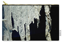 Shredded Curtains Carry-all Pouch by Amelia Racca