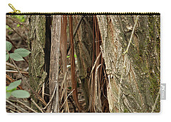 Shredded Tree Carry-all Pouch