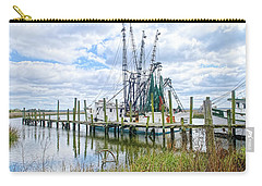 Shrimp Boats Of St. Helena Island Carry-all Pouch