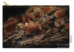 Carry-all Pouch featuring the photograph Shrooms by Kim Henderson