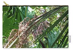 Carry-all Pouch featuring the digital art Shrub In Tree Art by Francesca Mackenney