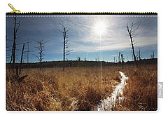 Carry-all Pouch featuring the photograph Shrub Swamp by Sue Collura
