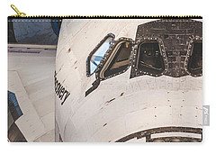 Shuttle Close Up Carry-all Pouch by David Collins