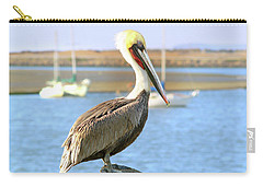 Shy Brown Pelican Carry-all Pouch