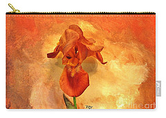 Shy Iris Carry-all Pouch