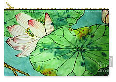 Shy Lotus Carry-all Pouch