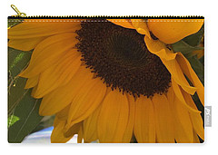 Shy Sunflower Carry-all Pouch