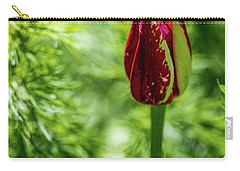 Shy Tulip Carry-all Pouch