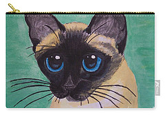 Siamese Carry-all Pouch by Leslie Allen