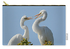 Siblings 2 Carry-all Pouch by Fraida Gutovich