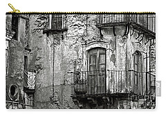Sicilian Medieval Facade Carry-all Pouch