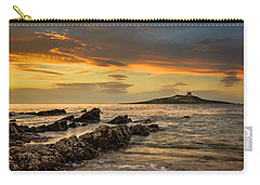 Sicilian Sunset Isola Delle Femmine Carry-all Pouch by Ian Good